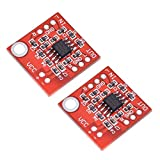 Zhengpingpai 2 Piezas de estereofonía TDA1308 Amplificador de Auriculares Auriculares Junta Amp preamplificador Tablero del módulo 3V-6V de Bricolaje