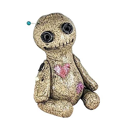 Quemador de Cono de muñeco vudú, Quemador de Incienso, Quemador Artesanal Hecho a Mano, Estatua, Adorno de Escritorio, Quemador de insencia para muñeco vudú (A)