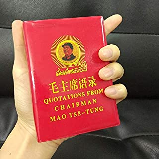 Humanities & Social Science - Quotations from Chairman Mao Tse-Tung Chinese/english book For adults artbook Mini the Littl...
