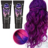 hook.s 2 Stück Thermochronic Color Changing Wonder Dye, Thermo-Sensing Dyeing Cream, Paint Magische...