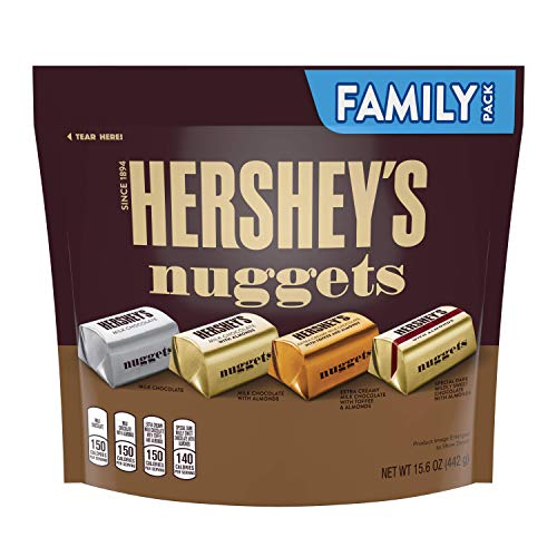 Hershey's Nuggets Assortment Chocolate Family Pack, 442 g