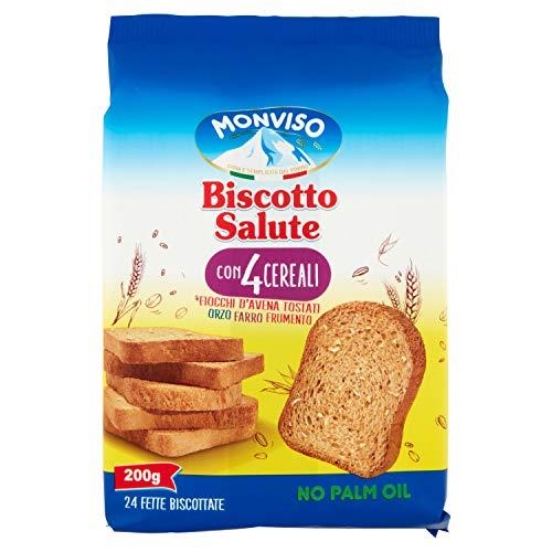 Monviso Biscotto Salute 4 Cereali - 200 g
