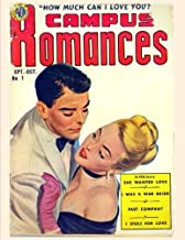 Campus Romances How Much I Love You: ( Black and White inside) Comic Book For Children and Enjoy (4 Comic Stories) 8.5x11 Inches: Volume 1