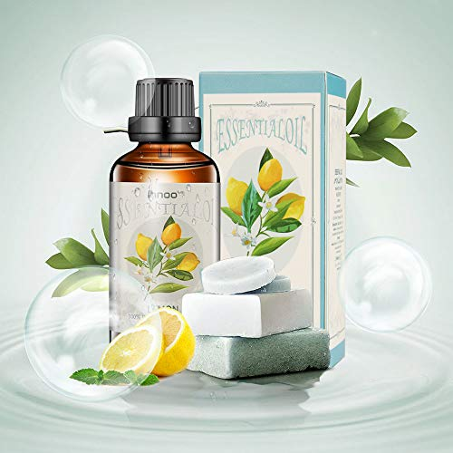 Lemon Essential Oil Set 50ml - Pure, Natural, Cruelty Free, Vegan, Steam Distilled and Undiluted - to use in Aromatherapy & Diffusers