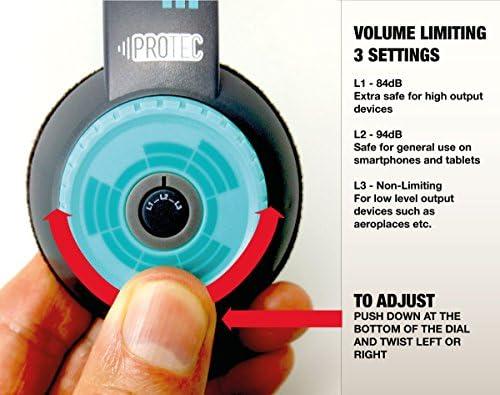 FSL Protec, Kids Headphones, (Pink)