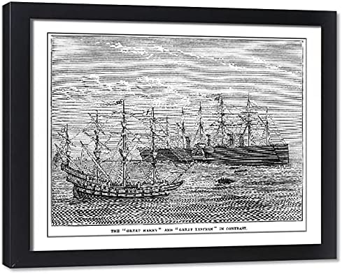 Media gift Storehouse Framed 20x16 Photo Harry of Great and Max 51% OFF Eastern