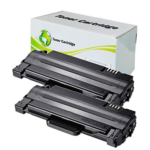 2 Pack INK4WORK Replacement for Dell 1130 1130n 1133 1135n 330-9523 (7h53w) Toner Cartridge