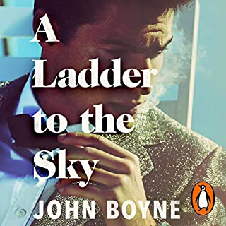 A Ladder to the Sky                   By:                                                                                                                                 John Boyne                               Narrated by:                                                                                                                                 Richard E. Grant,                                                                                        Laurence Kennedy,                                                                                        Richard Cordery,                   and others                 Length: 11 hrs and 32 mins     233 ratings     Overall 4.5