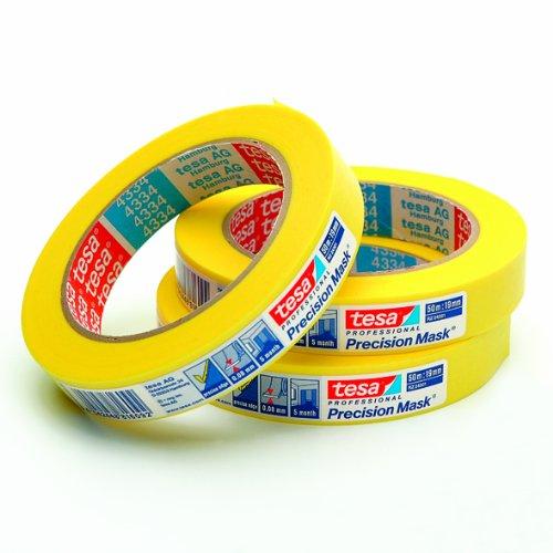 tesakrepp® 4334 Präzisionskreppband 19X50 TESA
