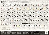 ターナー色彩 透明水彩絵具 54色ドットカード WT54DOT