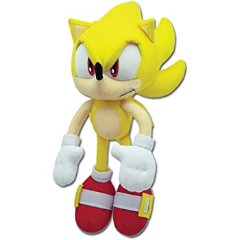 Amazon Com Sonic Super Plush Toy Yellow Toys Games