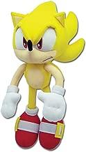 Sonic The Hedgehog Great Eastern GE-8958 Plush - Super Sonic, 12