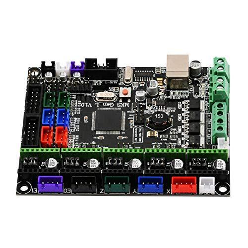 Noblik 3D Printer Control Board Mks Gen L V1.0 Integrate Ramps Motherboard 12/24V