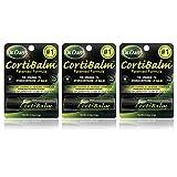 Dr. Dans CortiBalm Lip Balm | Patented Formula | 0.14 Ounces | 3-Pack