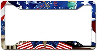 GqutiyulUCOOL Personalized License Plate Frame, Cool Car Tag Frame Novelty License Plate Frame 4 Holes