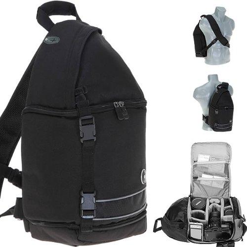 Bilora - Mochila para cámara de fotos, color negro