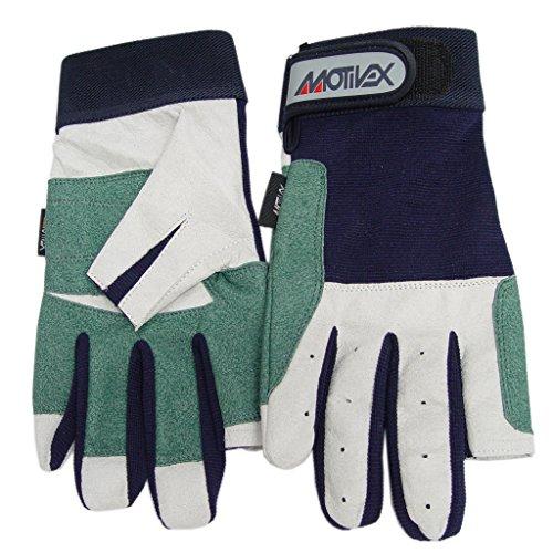 Sailing gloves back side Spandex 2 fingers cut Size: XXXL