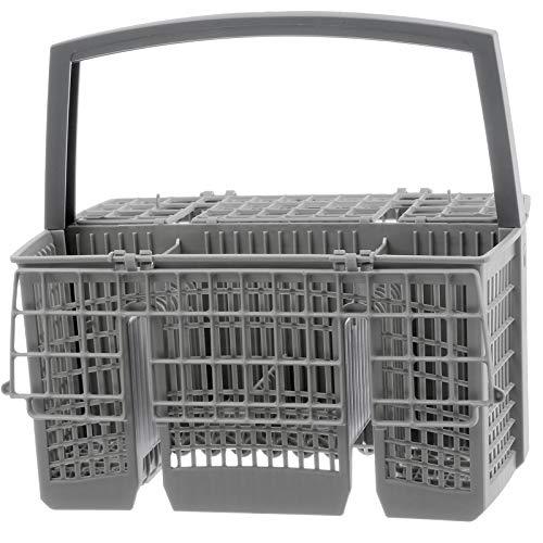 Spares2go Gris 6 Compartiment Panier à couverts pour lave-vaisselle Airlux