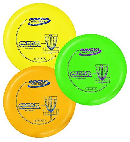 Innova DX Aviar Putt and Approach Disc Golf Putter Practice Pack of 3 (173-175g)