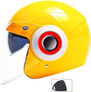 Universal Approval MULTI TAGLIA transparent 3 Buttons Biltwell Bell DMD Bandit YAM AFX Nolan AGV Bubble Visor Jet Helmet