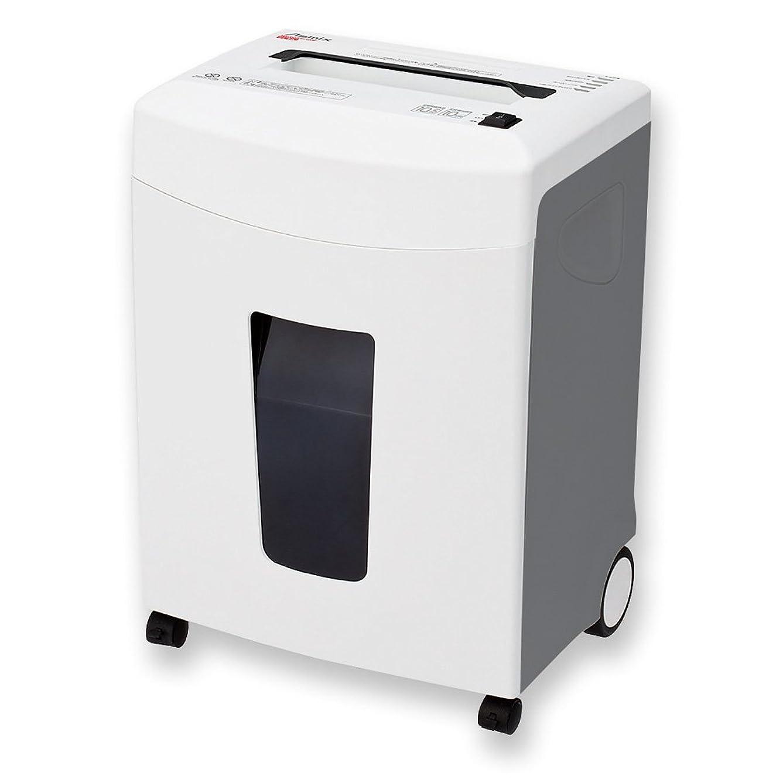 出会い拒絶手順アスカ ASMIX 電動シュレッダー マイクロカット S56MC ホワイト メディア対応
