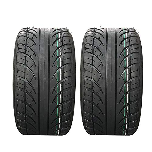 MOTOOS Set of 2 205/50-10 4.205x50-10 Lawn Mower Turf Garden Tractor Golf Cart Tires 4PR P826