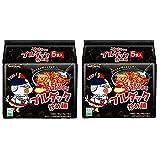 プルタク炒め麺140gx 10個 (プルタク炒め麺140g(1袋あたり)x 10個)