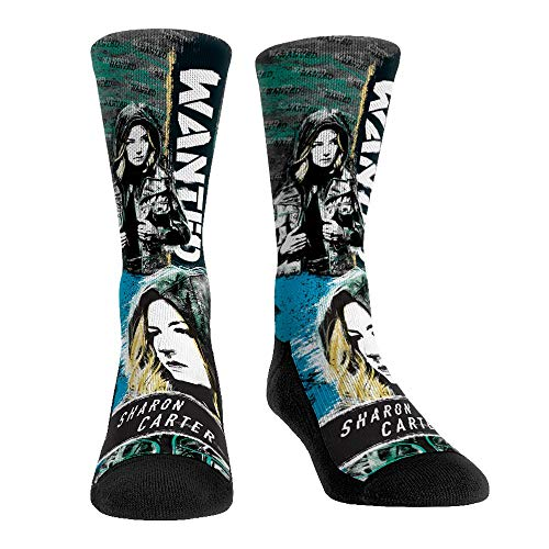 Marvel The Falcon and The Winter Soldier Socks (Small/Medium, Sharon Carter - Wanted)