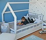 Zoom IMG-1 letto casa in legno stile