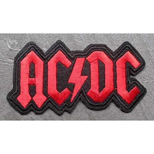 hotrodspirit–termoadhesiva ACDC rojo Logo Hard Rock grupo