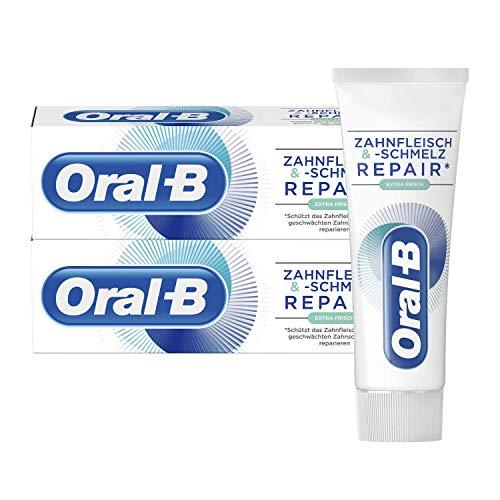 Oral-B Zahnfleisch und -schmelz Repair Extra Frisch Zahnpasta 2x75ml