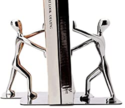 Stainless steel bookends