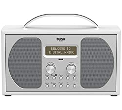 A thing of beauty! This piano white stereo by Bush has the wow factor that your home needs. Choose from 20 pre-set stations to get you started. With digital matrix display, you can also stream your music wirelessly via Bluetooth or tune in to crystal...