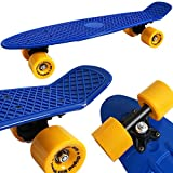 Atlantic Rift Retro Skateboard Pennyboard Retroboard   Oldschool Design   sicherer Halt   robuste Rollen   PU-Dämpfer -【Farb- und Modellauswahl】 - 5