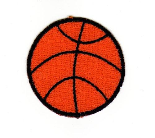 Aufnäher Bügelbild Aufbügler Iron on Patches Applikation Sport Basketball Ball