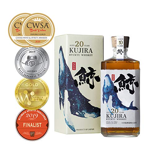 KUJIRA 20 YEARS OLD BOURBON CASK JAPANESE WHISKEY