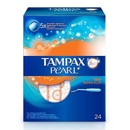 Tampax Pearl - Tampones Superplus, 24 Unidades