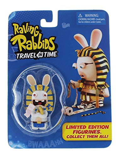 Raving Rabbids 'Travel in Time' Collectible Figurine - 'Pharoah'
