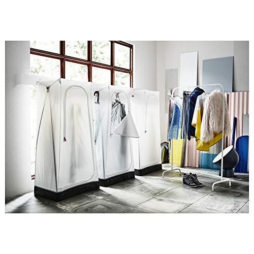 IKEA/イケアVUKUワードローブホワイト103.393.31