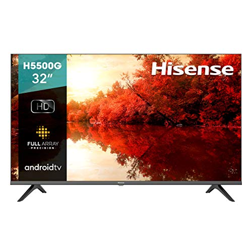 TV Hisense 32' HD Android TV LED 32H5500G (2020)