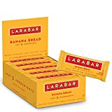Larabar Gluten Free Bar, Banana Bread, 1.6 Ounce (Pack of 16) Bars, Whole Food Gluten Free Bars, Dairy Free Snacks