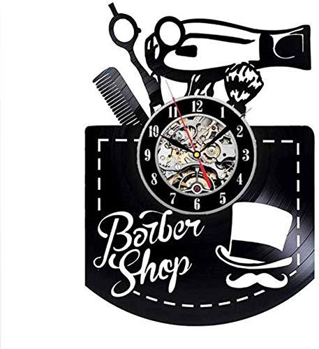 YJTGZ Barber Tool Bag Belt Vinyl Watch Ciseaux Peigne Sèche-Cheveux Maison Décoration Cadeau pour la Coiffure Boutique