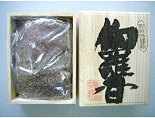 焼香 伽羅香120g桐箱入り 抹香