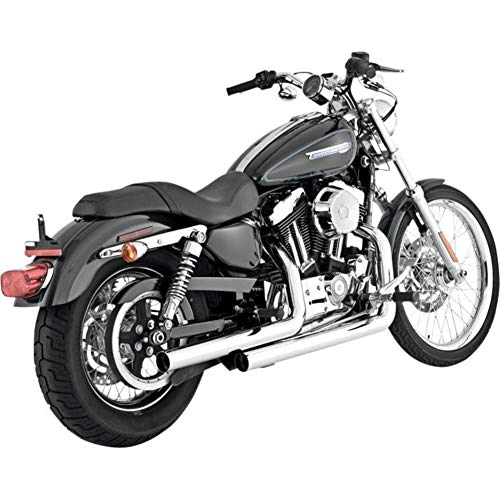 Vance & Hines Straightshots Chrome Harley Davidson Sportster 2004-2013