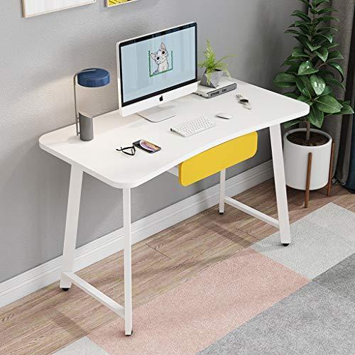 Desktopcomputer Bureau met Lades/Slaapkamer Massief Houten Bureau Voor Kinderen/Hoekbureau/PC Laptopbureau/Eettafel Speeltafel Voor Thuiskantoor/Keuken Eettafel/Badkamerkast