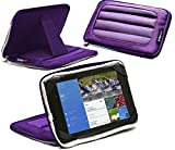 Navitech Purple 7 inch Neoprene Case Cover Sleeve with Stand Compatible with The Vuru A33 7-Inch 8GB Tablet