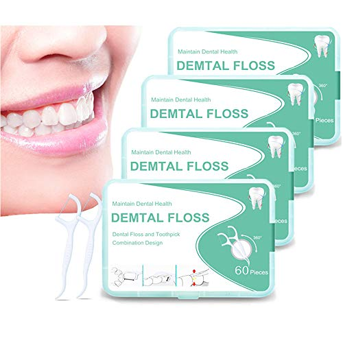 Tandzijde sticks, wegwerp tandzijde, Dental Floss, interdental flosser tandreiniger sticks, tandverzorging tandzijde…