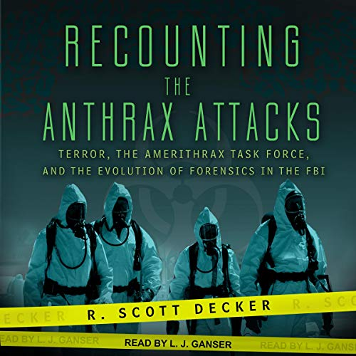 Recounting the Anthrax Attacks audiobook cover art