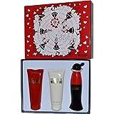 Moschino–Cheap & Chic Set de regalo para usted (EDT Spray 50ml, Gel de 100ml, loción corporal 100ml)