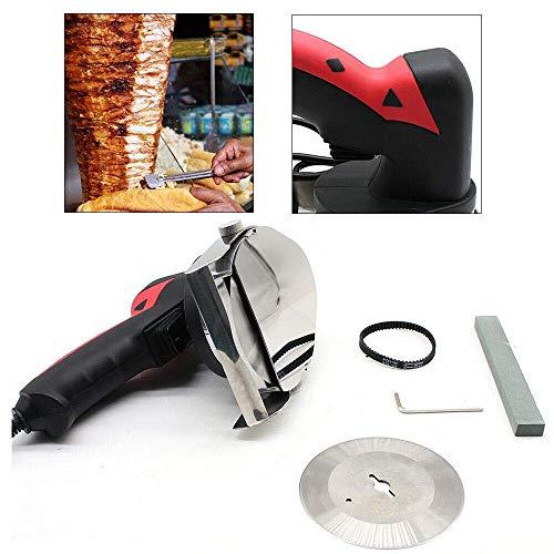 220-230V / 50Hz 80W Doner Cutter Doner Doner Kebab Coltello Kebab Cutter Gyrosmesser Electric Doner Kebab Red